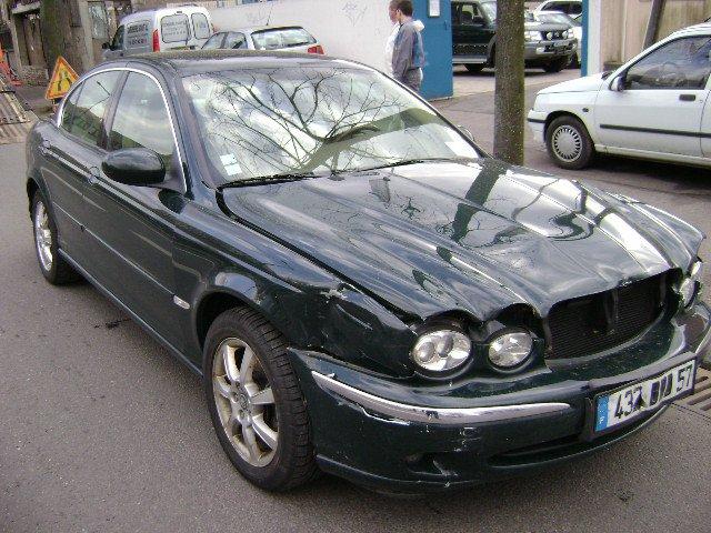 Fits Jaguar X-TYPE 2.5 V6 AWD véritable imprimé bleu en-Ligne Filtre à carburant